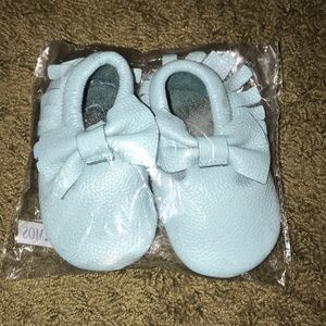 Other - Baby Blue Mocs